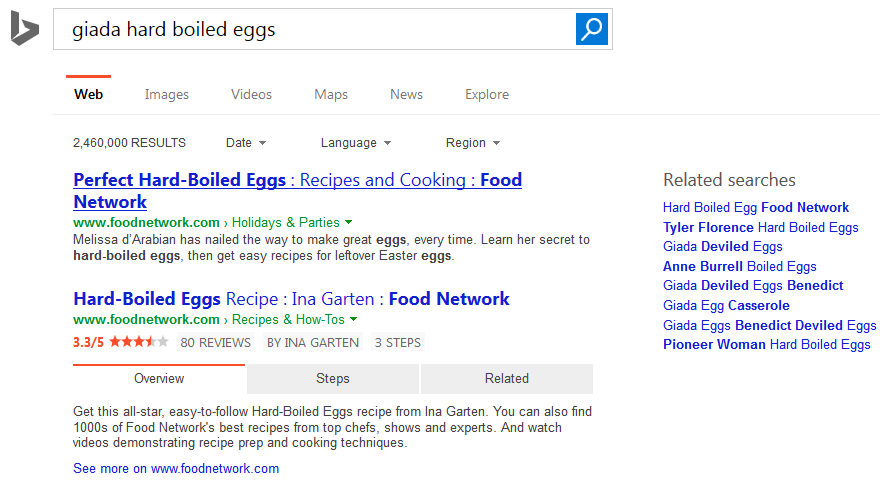 bing large text title serps 5