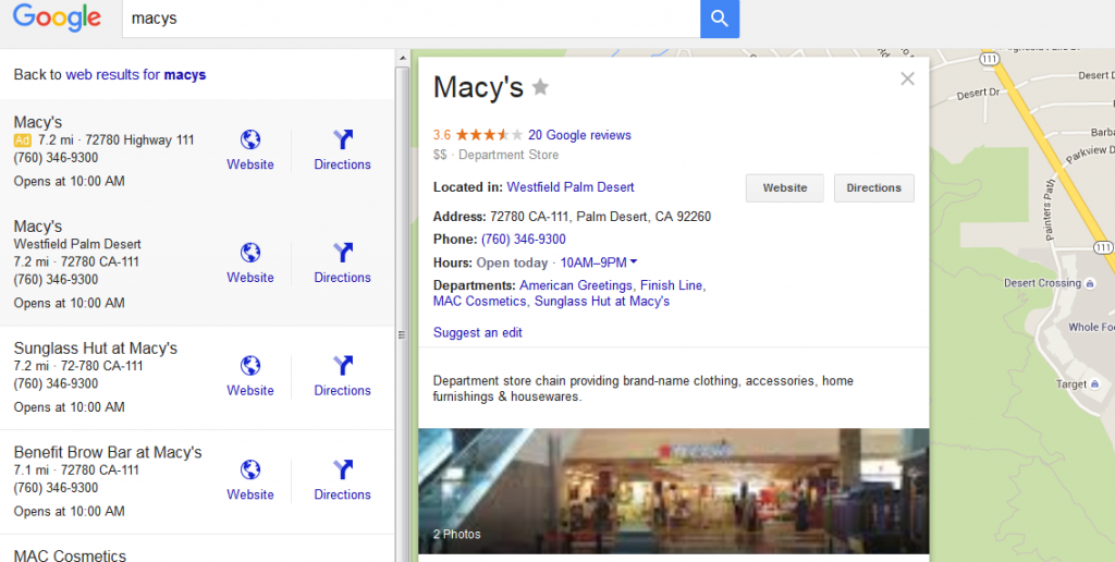 Google Local Advertising