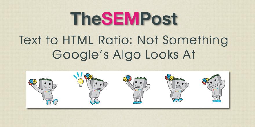 text html ratio