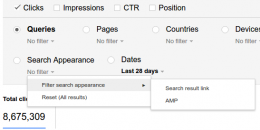 Google Adds AMP Analytics Reporting to Search Console