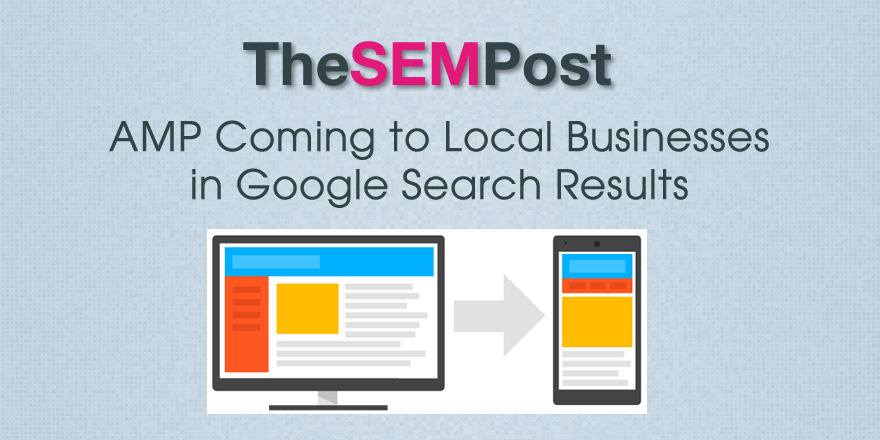google amp local