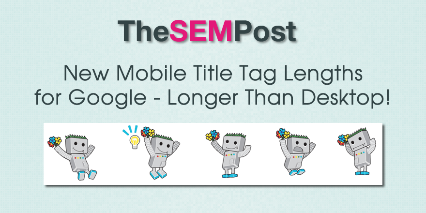 google mobile title tag length