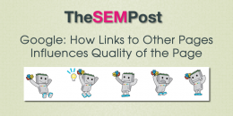 Google: How Links to Other Pages Influences Quality of the Page