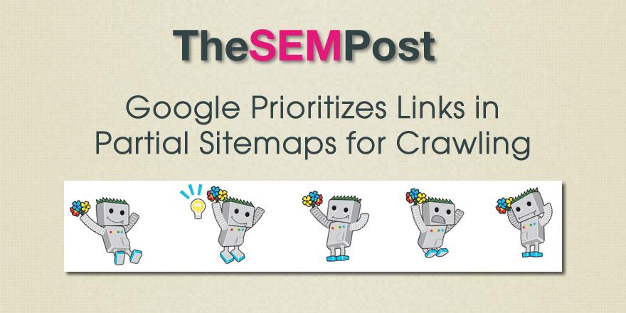 google partial sitemaps crawling