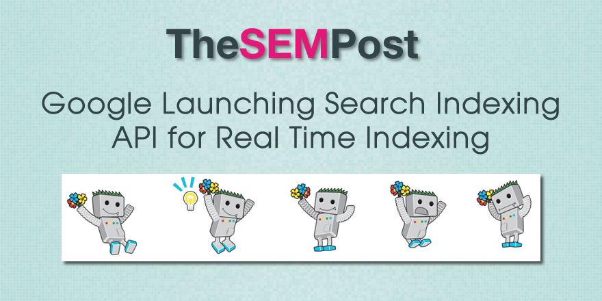 google real time api search indexing
