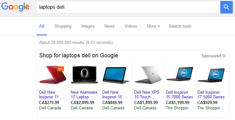 google smaller pla