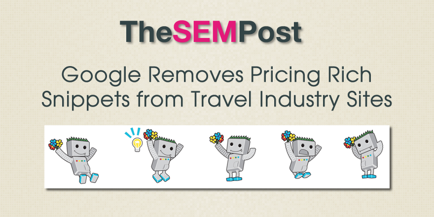google travel rich snippets pricing