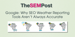 Google: Why SEO Weather Tracking Tools Aren't Accurate