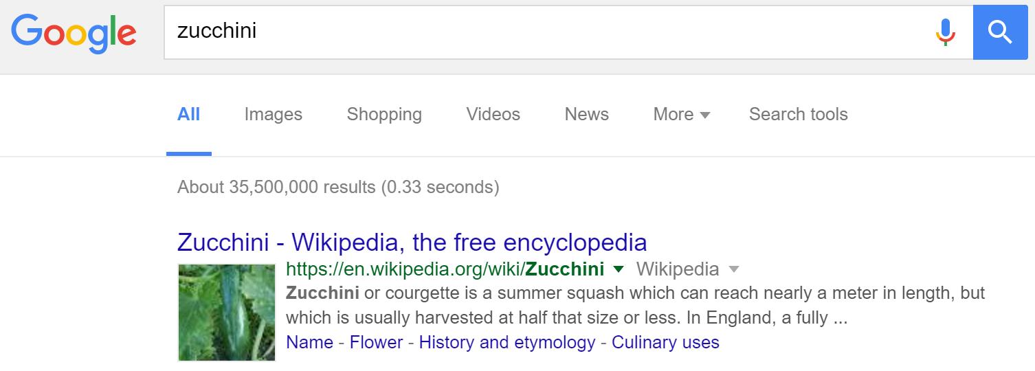 google wikipedia rich snippets 7