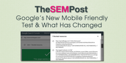New Mobile Friendly Test from Google Search Console