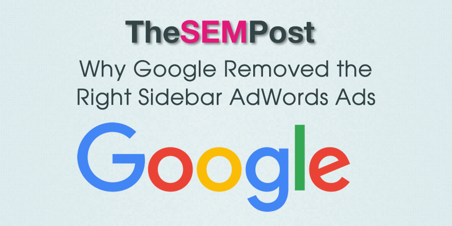 why google sidebar ads removal