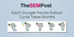 Each Google Panda Rollout Cycle Takes Months