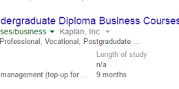 Google Displaying Data from Tables in Regular Search Results