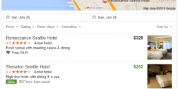 "Google Adds ""Deal"" Tag to Local 3-Pack and Local Finder Map Hotel Results"