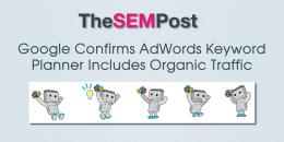 Google Confirms AdWords Keyword Planner Includes Organic Traffic