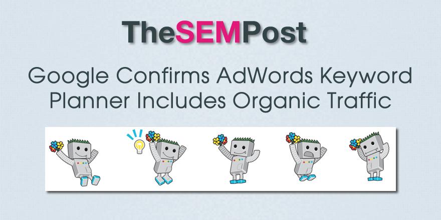 adwords keyword planner organic