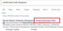 Google AdWords Truncating Headlines for Some Ads