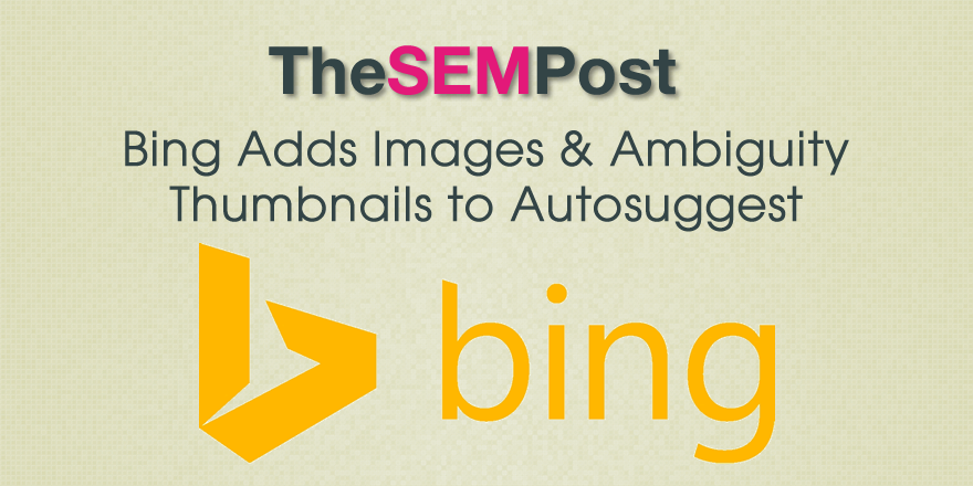 bing images autosuggest
