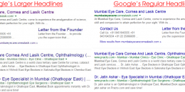 Google Testing Larger Title Headlines in Search Results
