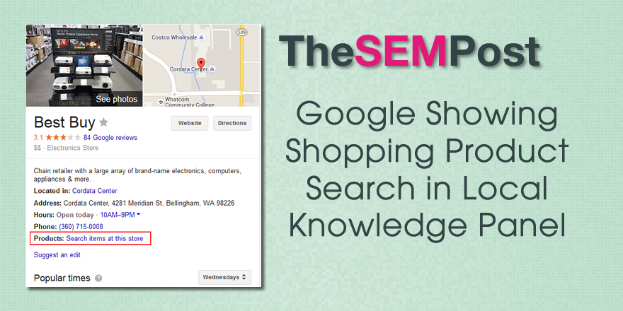 google local search kp
