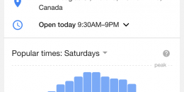 """Google Adds """"People Typically Spend"""" Times to Local Businesses"""
