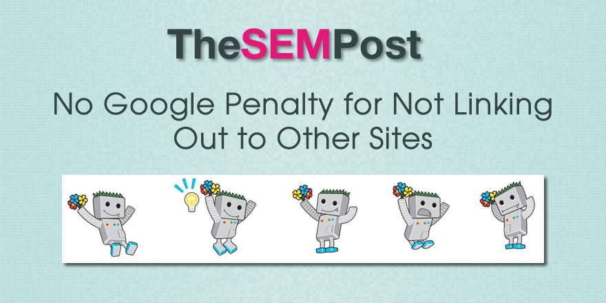 google penalty not linking out