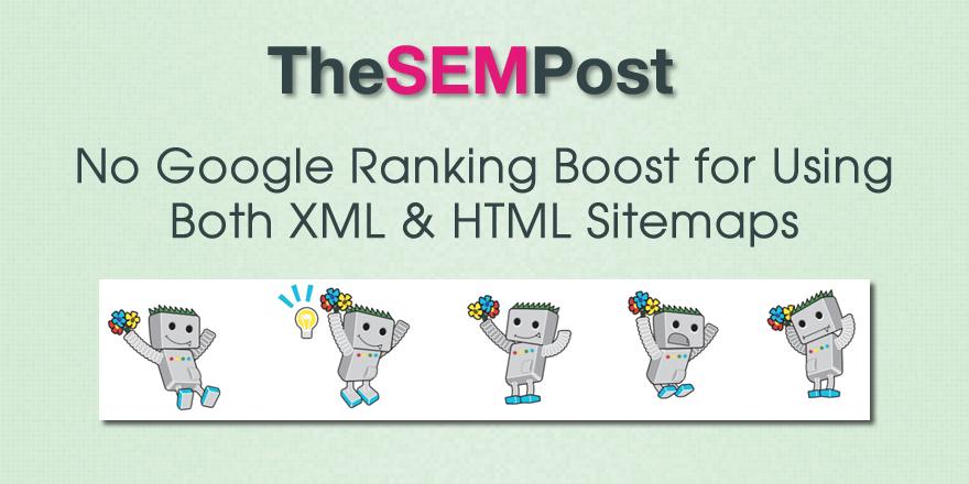 google ranking boost sitemaps