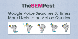 Google Voice Searches 30 Times More Likely to be Action Queries