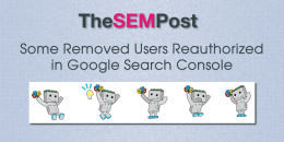 Some Removed Users Being Reauthorized in Google Search Console