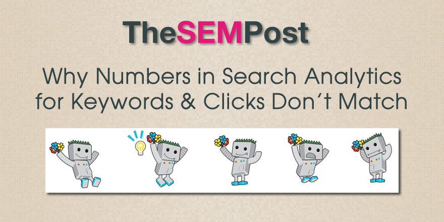 gsc search analytics keywords clicks