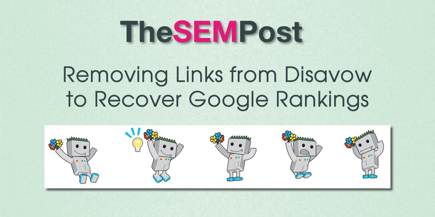 removing links disavow