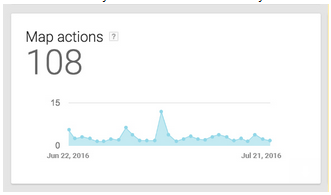 adwords express map actions