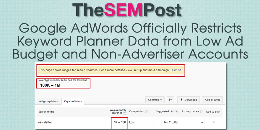 adwords restrict keyword planner