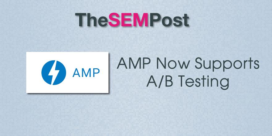 amp ab testing