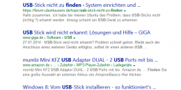 Bing Testing Site Name Only With No URL in Search Results