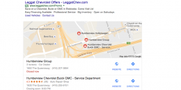 Google Testing Mobile Style in Local 3-Pack on Desktop