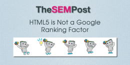 HTML5 is Not a Google Ranking Factor