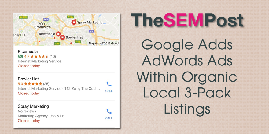 google local ads 3pack