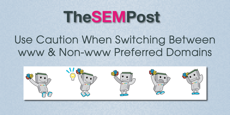 switch preferred domains google