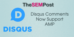 Disqus Comments Now Support AMP