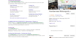 Google Testing Mobile Local Knowledge Panel on Desktop