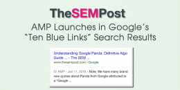 AMP Results Now Live in Google's Organic Search Results