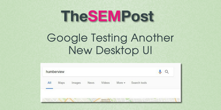 google desktop ui test