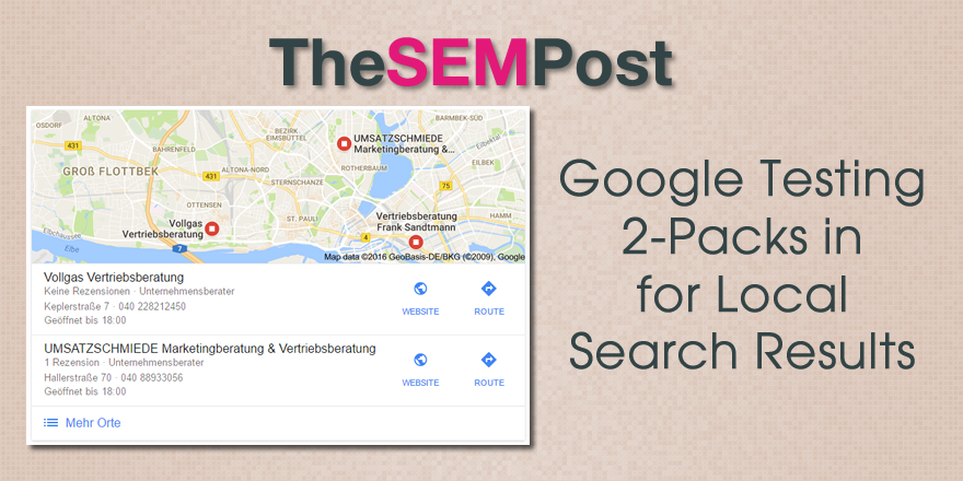 google local 2 pack