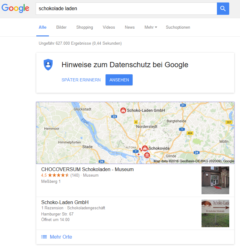 google local 2pack 2