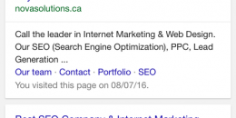Google Testing Click to Call on Organic Generic Local Queries