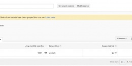 Google AdWords Keyword Planner More Transparent in Combining Search Variants