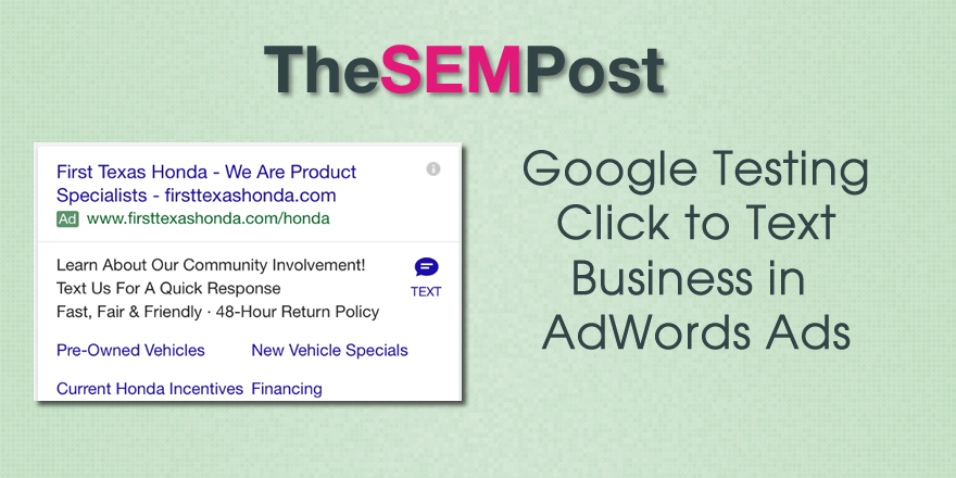 adwords-click-to-text