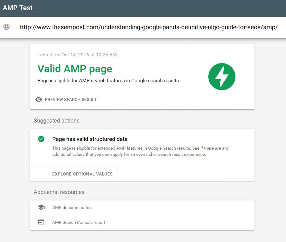 google-amp-testing-tool