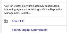 Google Testing Icons on Mobile Sitelinks